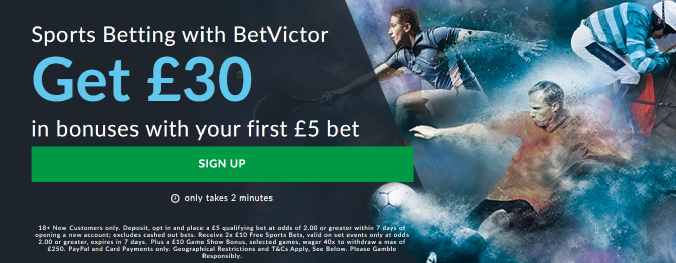 Betvictor free 5 betting tarak mehta episode 1326 betting
