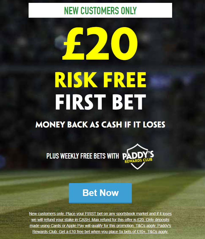 Free bet on paddy power home united vs brunei dpmm betting expert predictions